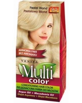 Multi Color - 9.0 Pastelowy blond50ml - Venita