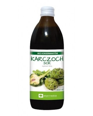 Karczoch sok 500ml - AlterMedica
