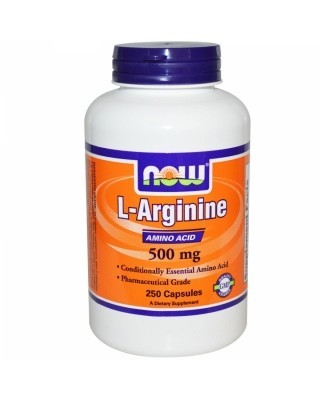L- arginine 500mg 250kaps - Now Foods